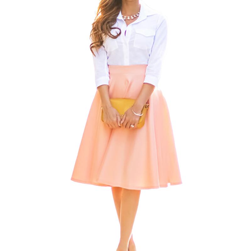 Pink Black Skirt 15