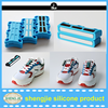 Hot new Creative plastic magnetic shoe buckle Custom flat no tie shoelace