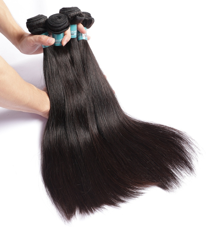 Yak Hair Weft Clips For Hair Extensions -