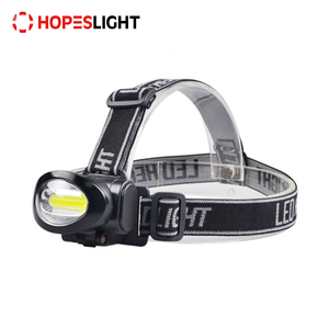 Manufacture Price 2017 ABS 3AAA 100 Lumens Long Range COB LED Headlamp Bike Head Lamp Fishing Head Torch Light Walking