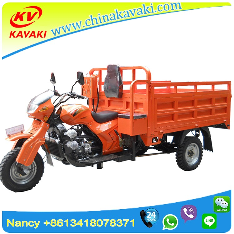 KAVAKI Tricycle factory export sudan market 250cc motorcycle trike