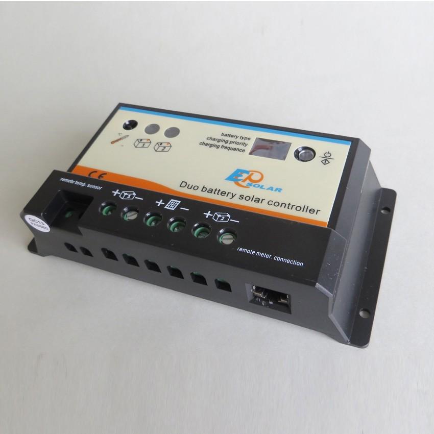 10a 12v 24v Ep Epipdb Com Dual Duo Two Battery Solar