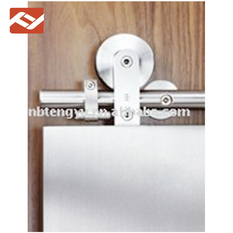 Economical custom design assorted Top hung stainless steel sliding door fitting set