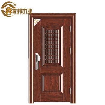 Paint Colors Half Gl Steel Interior Safety Iron Main Double Door Gates Designs