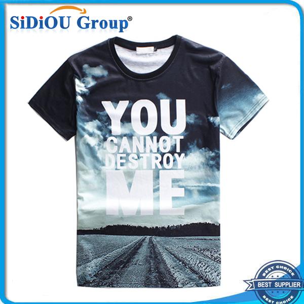 Digital 3d Printing Custom T Shirt Printing - Buy T Shirt Printing ...