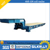 CIMC 40ft 80-100T Roller Trailer with goosneck