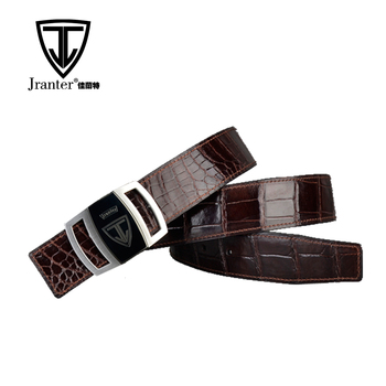 Wholesale Leather Belt For Men, Real Crocodile Leather Belt Manufacturer