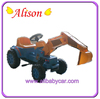 Alison Newest Plastic fashion ride on power electric car motor kit wheels remote control