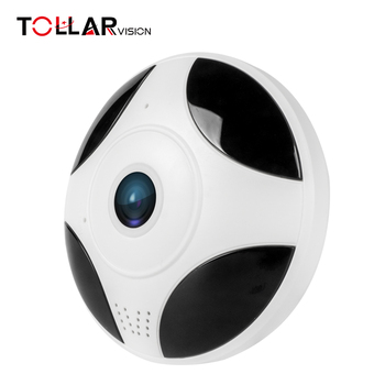 hot sale mini 360 degree p2p motion detection audio VR wifi cctv camera