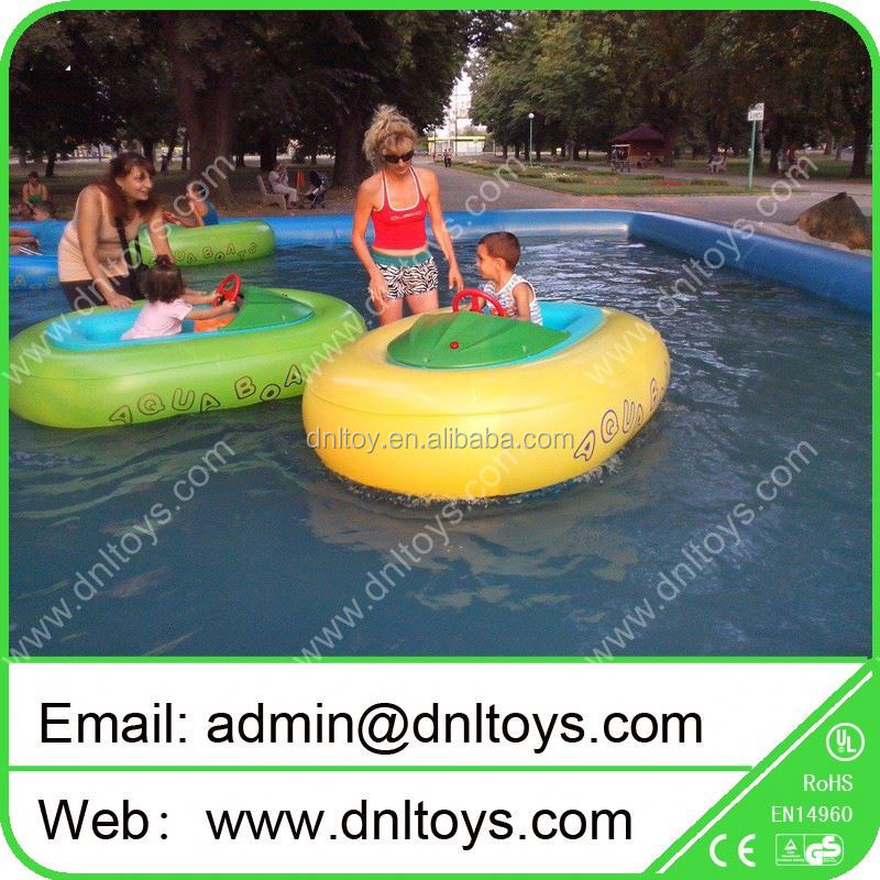 Simple tyre kids boat bumper for water park with CE