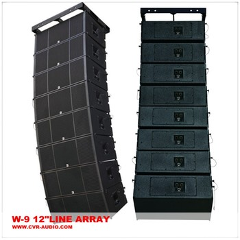 China Musical Instrument Stage Line Array Speakers Concert