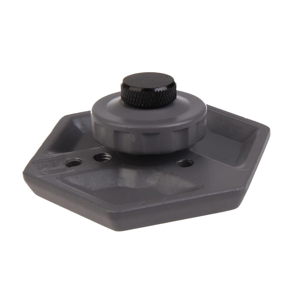 SODIAL(R) Replacement Hexagonal Quick Release Plate with 1/4inch -20 Screw for Camera Black