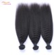 afro high quality virgin human hair ponytail kinky straight malaysian yaki braiding hair weave extension