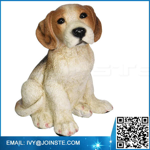 Resin dog figurines dog statue dog sculpture manufacture