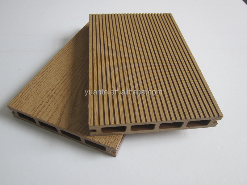 Green Choice YUANTE Outdoor WPC/ wood plastic composite (wpc decking)