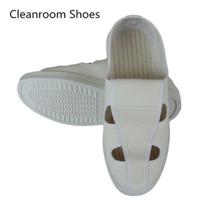 4 Holes Antistatic Shoe Esd Safety Cleanroom Shoes