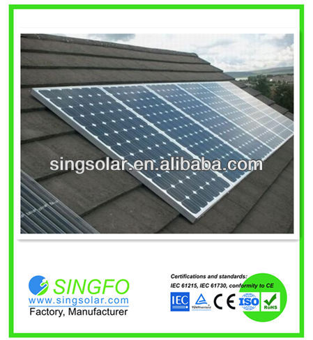 complete 1000W off-grid Home Use Solar Energy System/solar panel cleaning system
