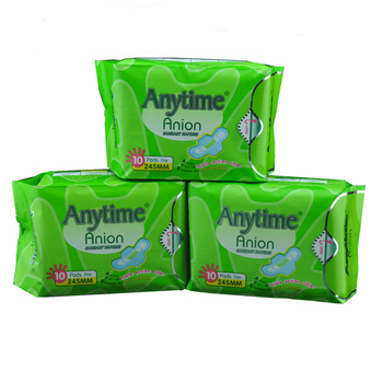 Hot Selling Anion Sanitary Napkin /Towel Manufacture in China