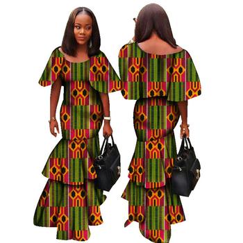 1fd1bd3adb 2017 Fashion Africa Dresses for Women Dashiki Sxey Elegant Traditional  African Clothing Plus Size Long Dress