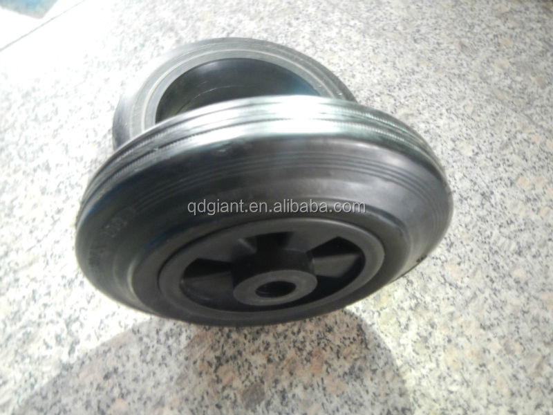 wheel barrows solid rubber wheels 200/50-100