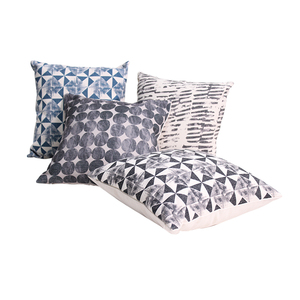 Cheap Geometric Printed Throw Pillow Cushion Garden Cushion