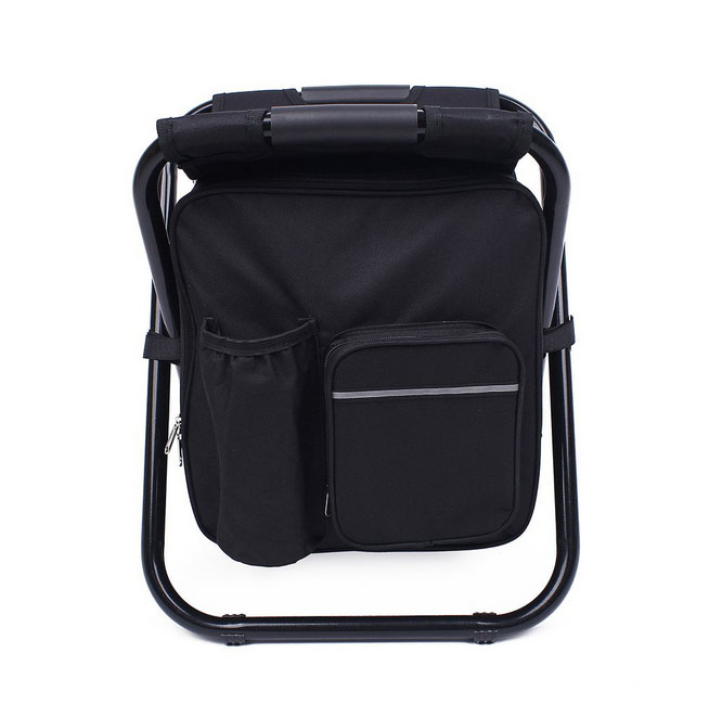Folding Portable Backpack Fishing Cooler Bag Beach Chair