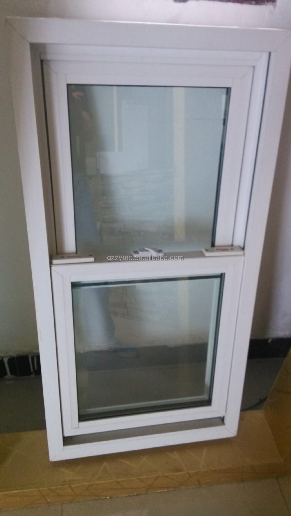 americano finestra finestra a ghigliottina di plastica e