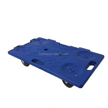 Platform plastic 4 wheels house moving tool dolly