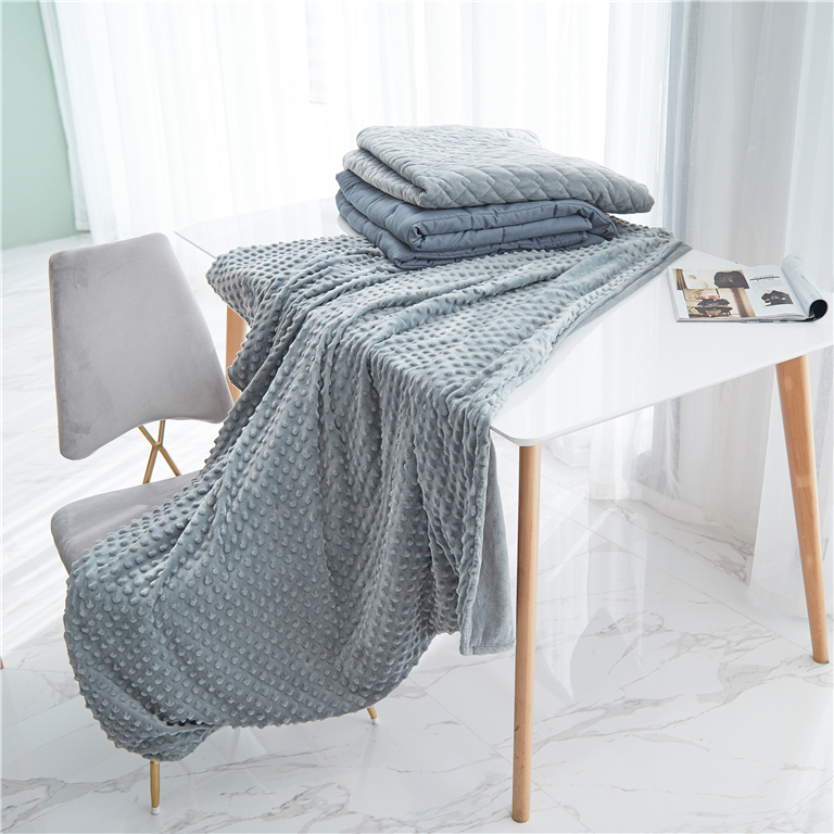 Calming Comfort Weighted Blanket from China