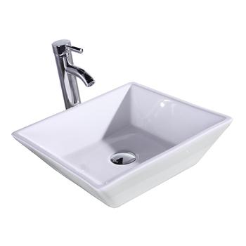 Lavello In Ceramica Ciotola Per Mobiletto Del Bagno/hotel/cucina - Buy  Pianura Ciotole Di Ceramica,Ciotola In Ceramica A Buon Mercato,Ciotola In  ...