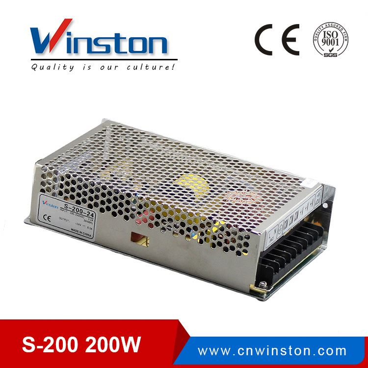 CE ROHS S-200-12 200W Single output 12v 200w led switching power supply
