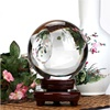 Personalized Decorative Laser Engraved Crystal Ball For Gift