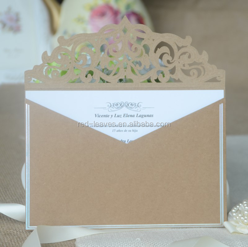 Envelope Design Wedding Invitations Card 2016 Decorative Items For ...