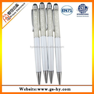 2014 hot welcomed bule fill ball point pens