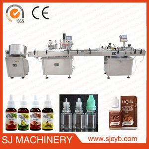 full auto e-liquid filling machine,ejuice filling and screw capping machine