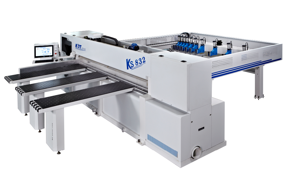 KDT vertical Panel saw/beam saw KS-832CP with 120mm cutting height