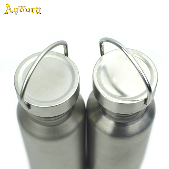 Accept OEM Logo Ultralight Pure Titanium Water Bottle 500ml