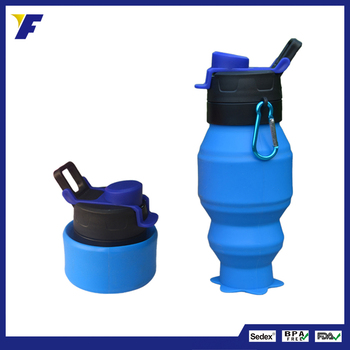 silicone sports water bottle for kids