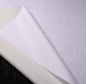 Textile 100% Cotton Fabric Waterproof Tencel Jersey Fabric Laminated with 0.02mm TPU Film