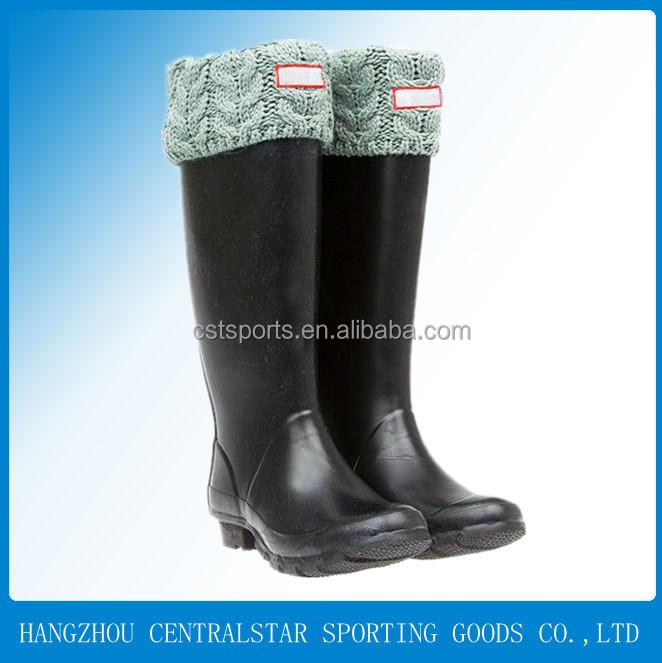 Moda feminina longa cowboy botas de borracha botas de chuva das mulheres  das senhoras do sexo 0103a3e5c7