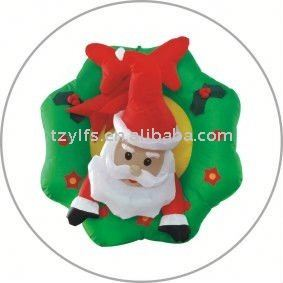 inflatable christmas garland