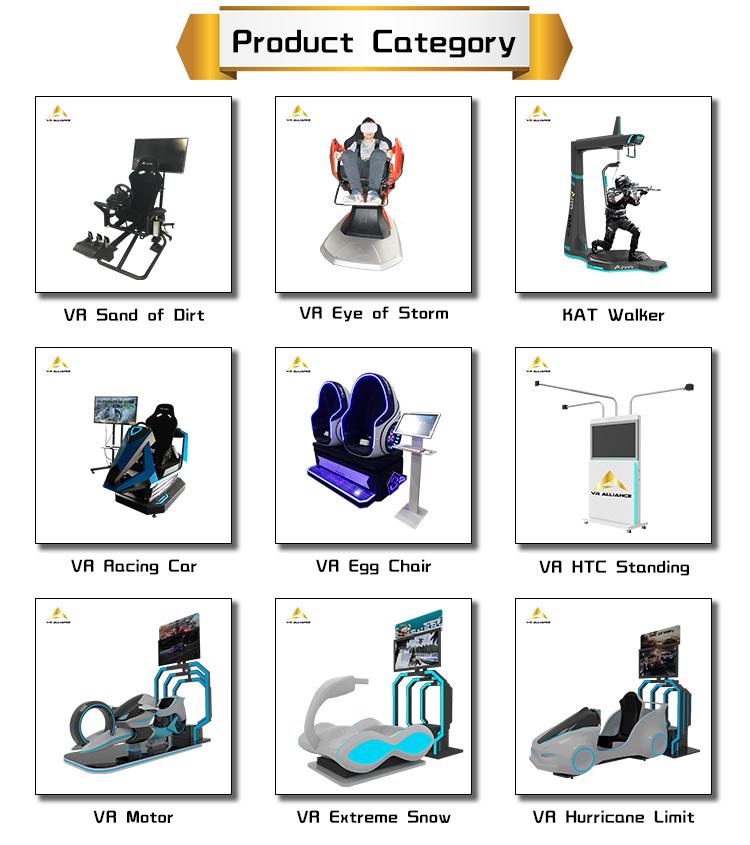 משחקי ארקייד מכונות VR ברית 9d Vive עומד פלטפורמת מציאות מדומה ציוד פרק שעשועים