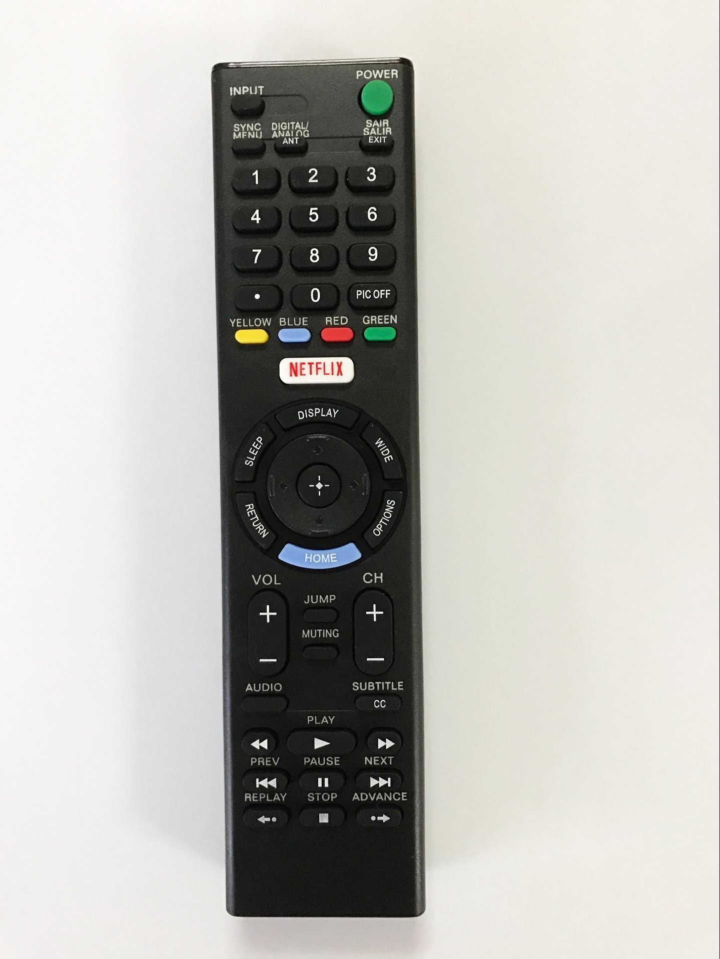 Replacement Remote Controller use for RMT-TX102U Sony KDL40W650D LED HDTV Smart TV