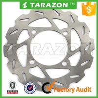 Custom motorcycle stainless steel 400cc atv quad bikes front disc brake rotors for sale
