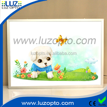 Led Wall Light Box And Led Backlight Photo Frame And Ultra Thin ...