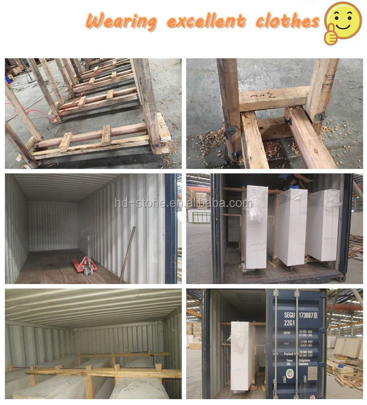 Artificial Marble Slabs Man Made Quartz Stone for Paving Tiles