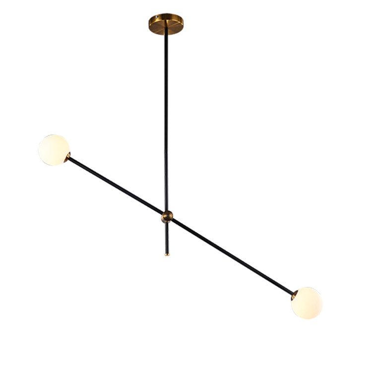 2020 Interior Decorative Lighting Fixture Circle Iron Matte Black Pendant European Style Lighting with Led Driver