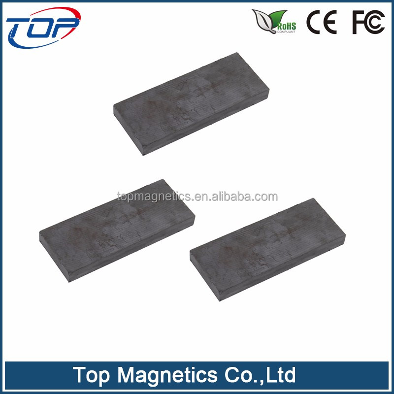 Industrial application and magnet strip shape anti magnetic materials