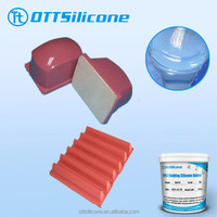 Color Red Pad Printing Silicone Rubber for Irregular Patterns printing