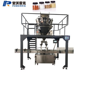 Automatic pepper spices coco powder granule filling machinery for spice